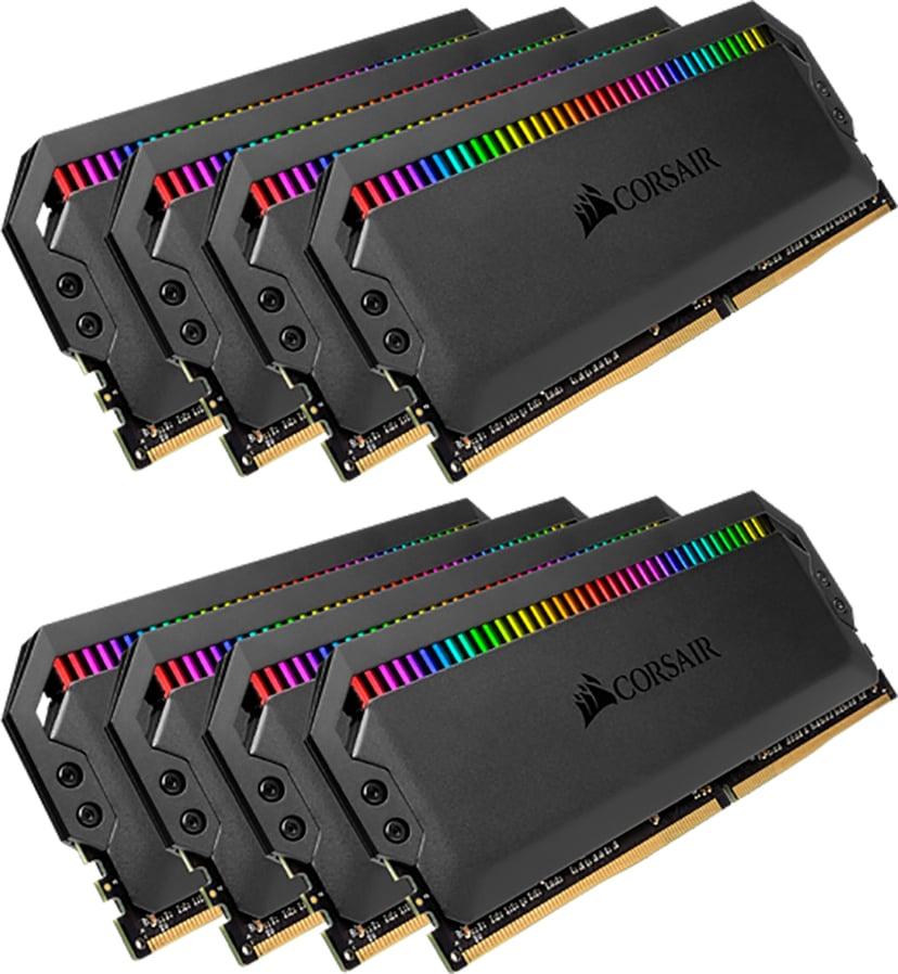 Corsair Dominator Platinum RGB 64GB 3,200MHz DDR4 SDRAM DIMM 288 nastaa