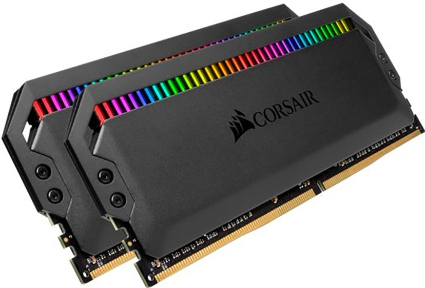 Corsair Dominator Platinum RGB 16GB 3,600MHz DDR4 SDRAM DIMM 288-pin