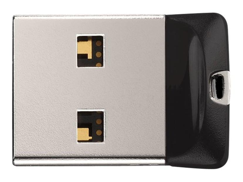 SanDisk Cruzer Fit 16GB USB 2.0 128-bit AES