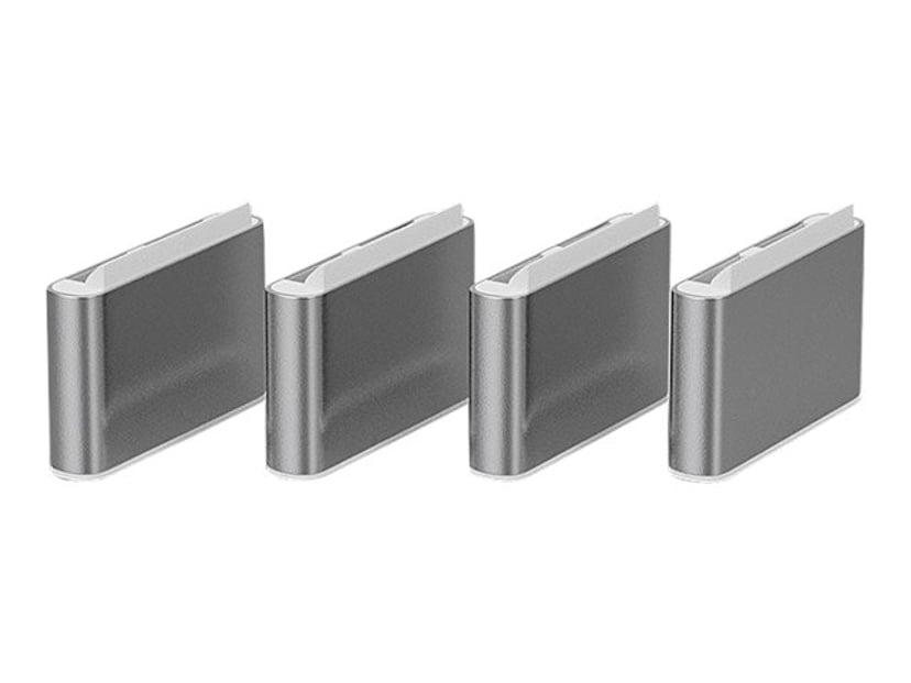 Lindy Port Blocker USB-C White 4-pack