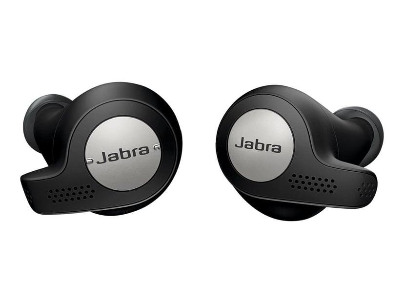 Jabra Elite Active 65t Zilver, Zwart