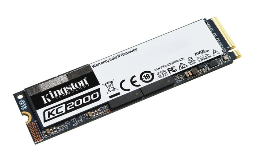 Kingston KC2000 500GB M.2 2280 PCI Express (NVMe)