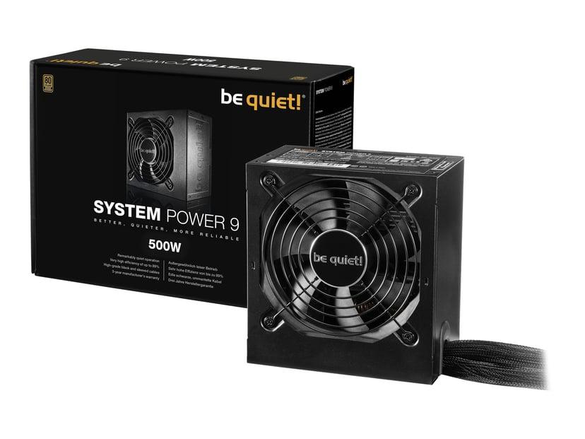 be quiet! System Power 9 500W 80 PLUS Bronze