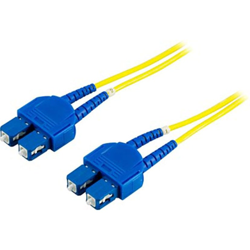 Deltaco Fiberoptisk kabel SC/PC SC/PC OS1 15m