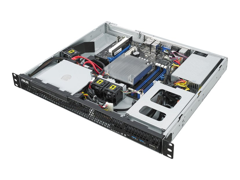 ASUS Server Barebone RS100-E10-Pi2 Ingen CPU 0GB