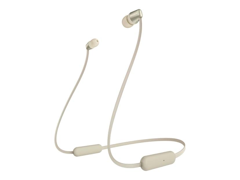 Sony WI-C310 Trådlösa hörlurar med mikrofon Guld
