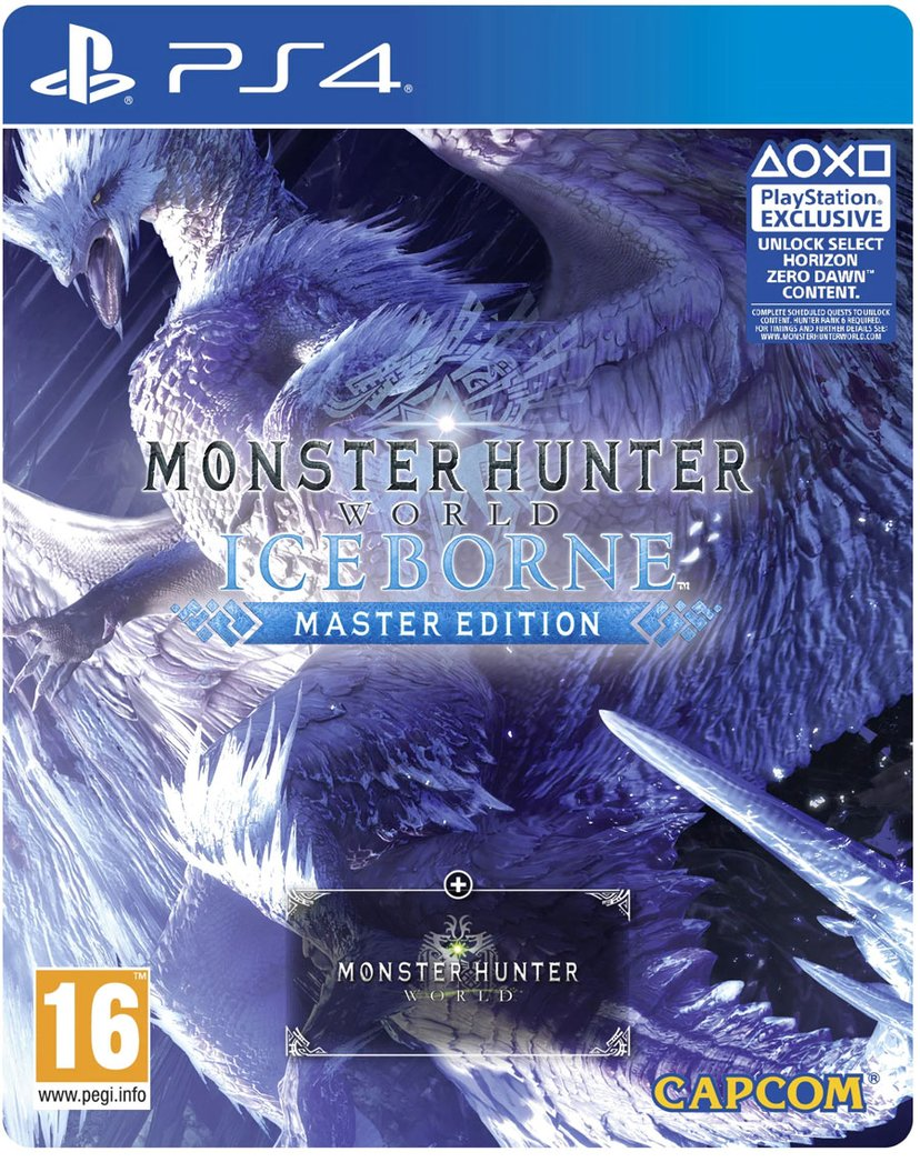 Capcom Monster Hunter World: Iceborne - Steelbook Master Edition