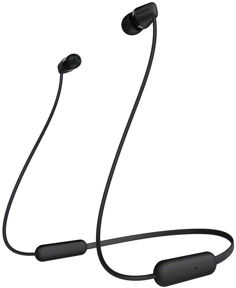 Sony WI-C200 Trådlösa hörlurar med mikrofon Svart