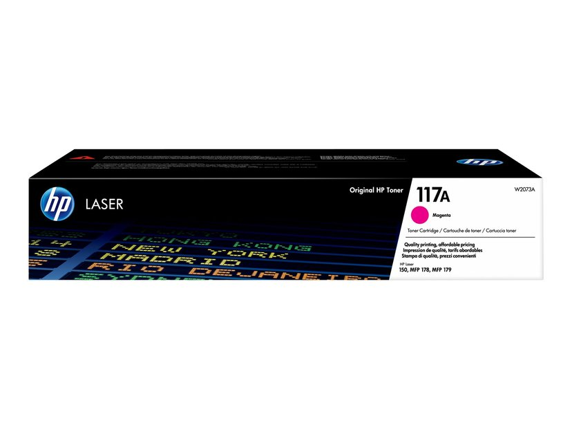 HP Toner Magenta 117A 700 Pages - CL 150A/150NW/178NW/179FNW