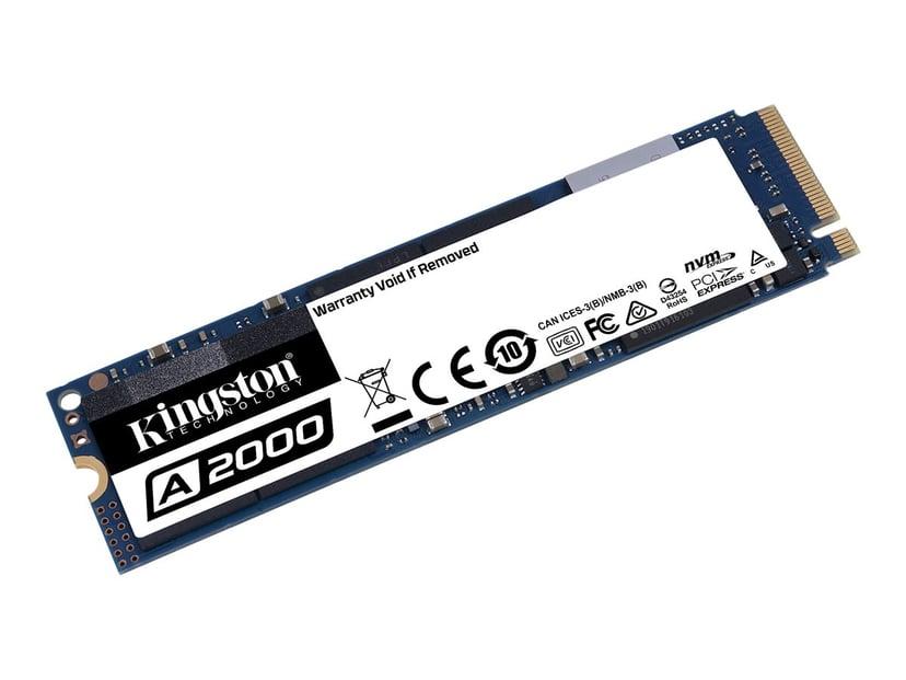 Kingston A2000 250GB M.2 2280 PCI Express 3.0 x4 (NVMe)