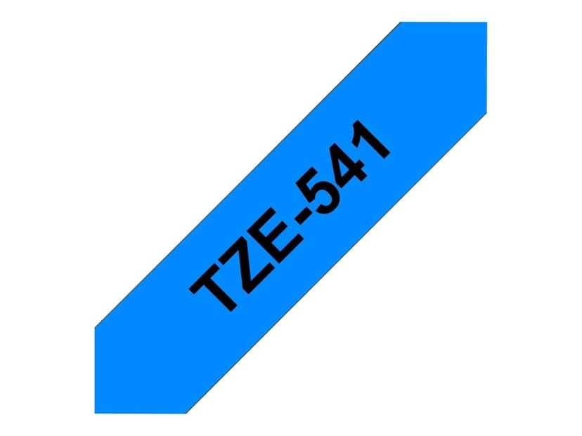 Brother Tape TZE-541 18mm Sort/Blå