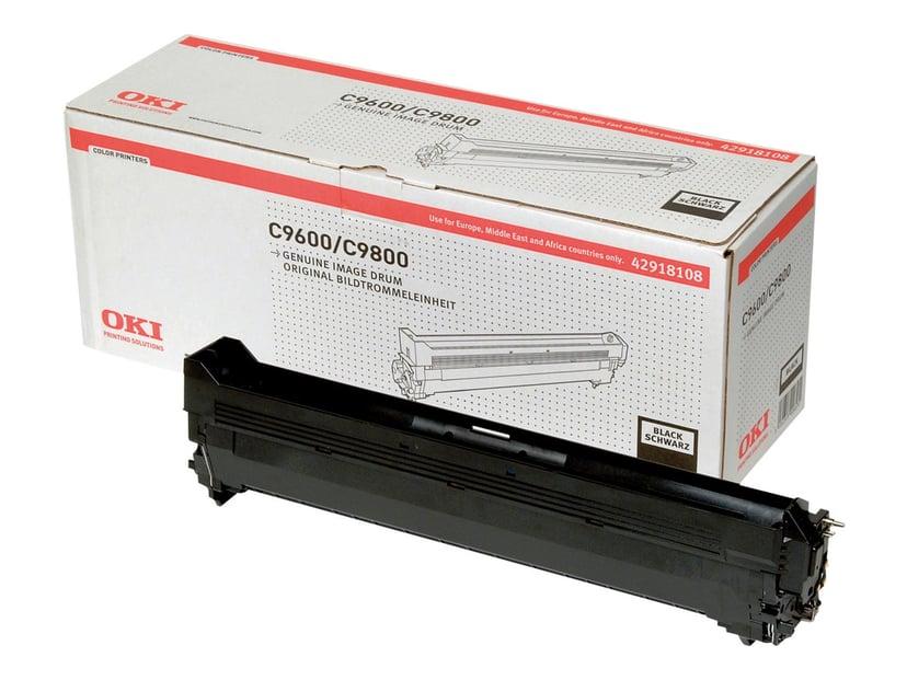 OKI Tromle Sort - C9600/9800