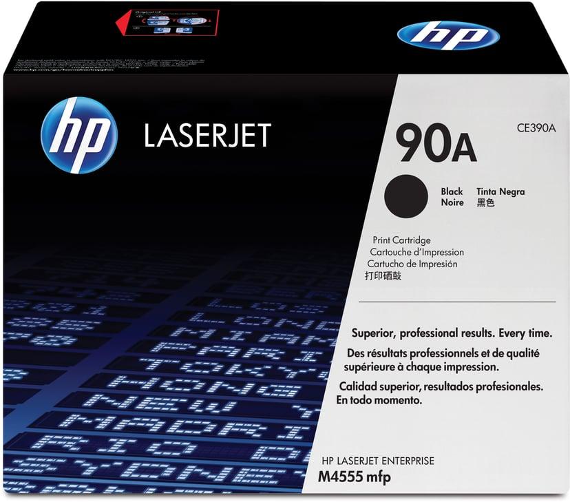 HP Toner Svart 90A 10K - CE390A