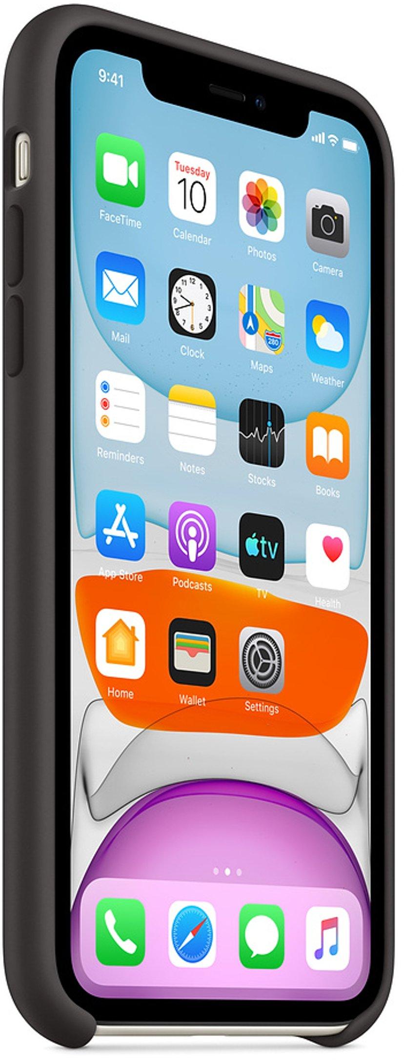 Apple Baksidesskydd för mobiltelefon iPhone 11 Svart