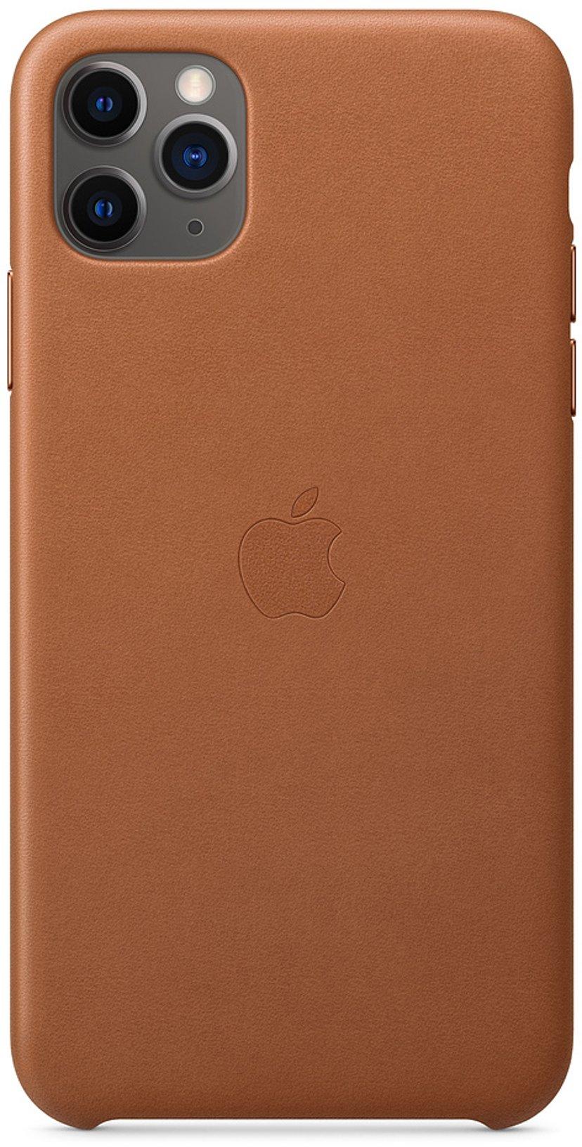 Apple Baksidesskydd för mobiltelefon iPhone 11 Pro Max Sadelbrun