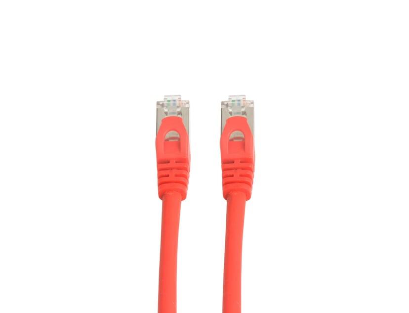 Prokord TP-Cable S/FTP Rød RJ-45 RJ-45 CAT 6a 0.5m