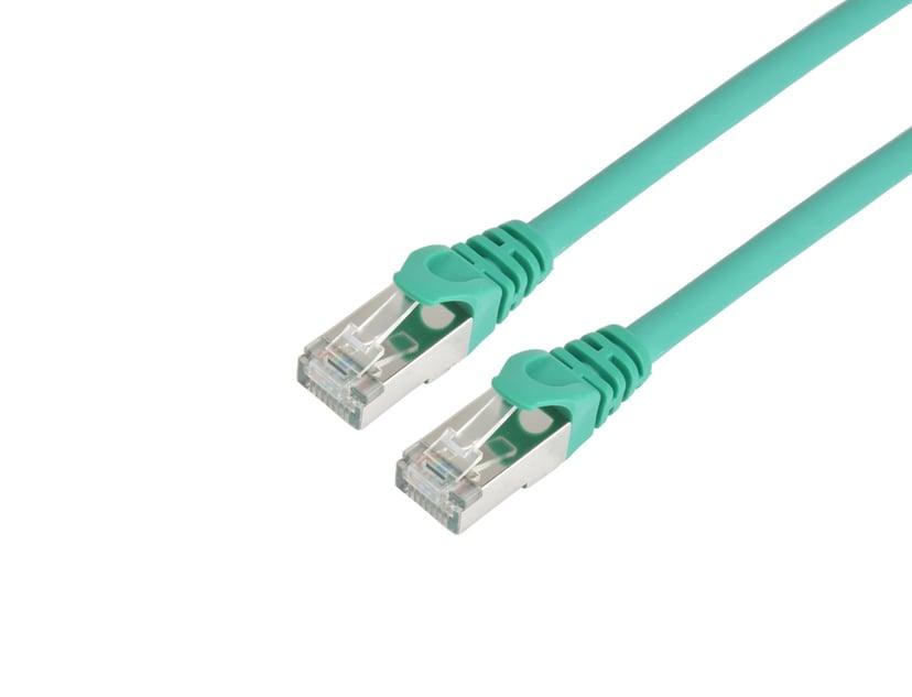 Prokord TP-Cable S/FTP RJ-45 RJ-45 CAT 6a 15m Grön