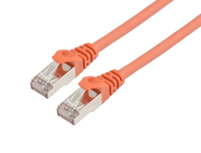 Prokord TP-Cable S/FTP CAT.6A Lszh RJ45 10.0m Orange RJ-45 RJ-45 CAT 6a 10m Oranje