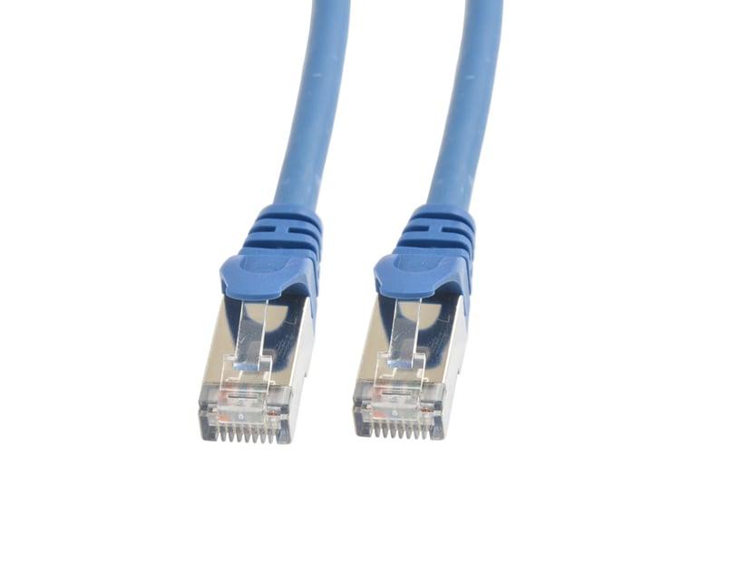 Prokord TP-Cable S/FTP RJ-45 RJ-45 CAT 6a 1m Blå