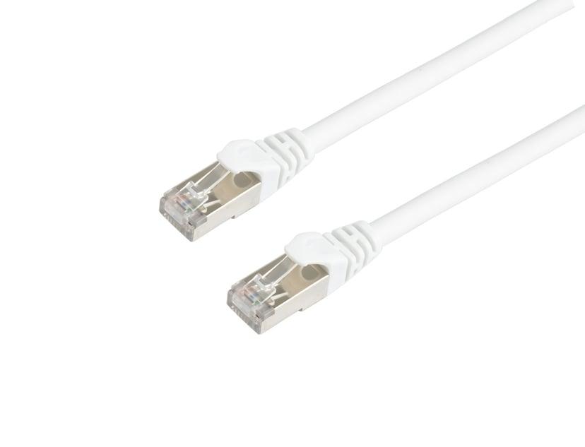 Prokord TP-Cable S/FTP RJ-45 RJ-45 CAT 6a 2m Valkoinen