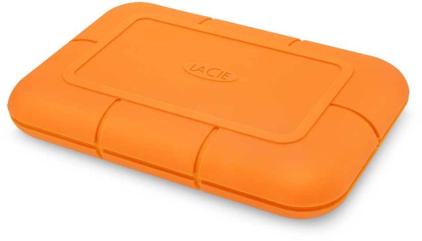 LaCie Rugged SSD 0.5TB Oransje