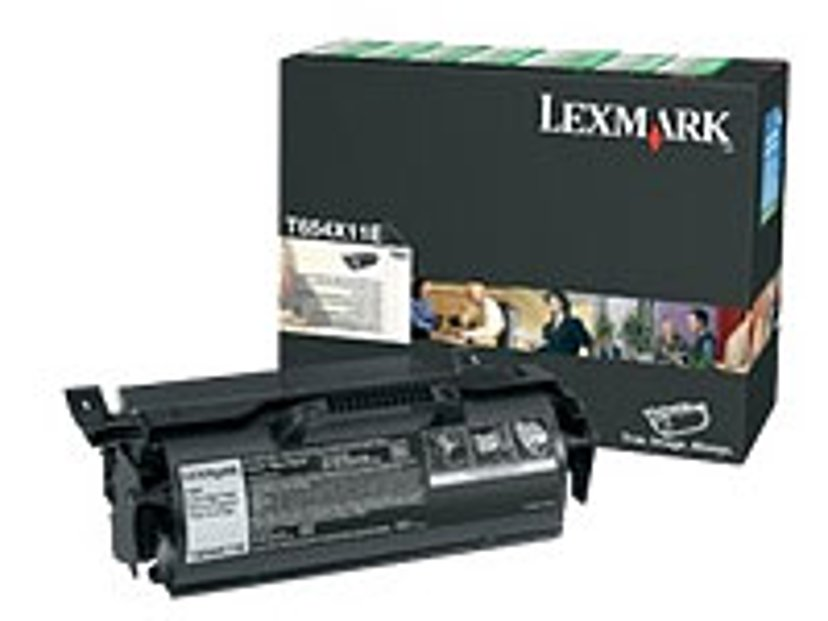 Lexmark Toner Sort 36k - T654 Return