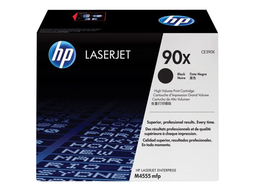 HP Toner Svart 90X 24K - CE390X