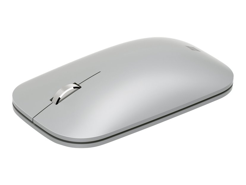 Microsoft Surface Mobile Mouse Muis Draadloos Zilver