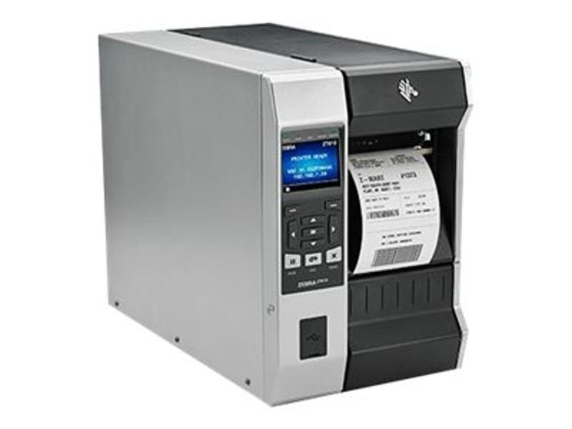 """Zebra ZT610 TT 600dpi 4"""" USB/LAN/Bluetooth/Seriell Tear"""