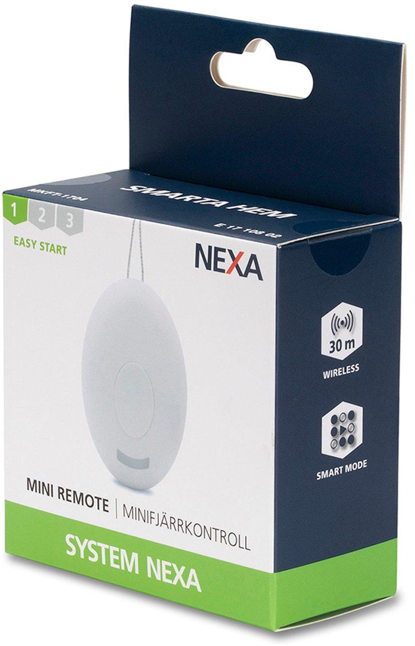 Nexa MKFT-1704 Minifjernbetjening med nøglering