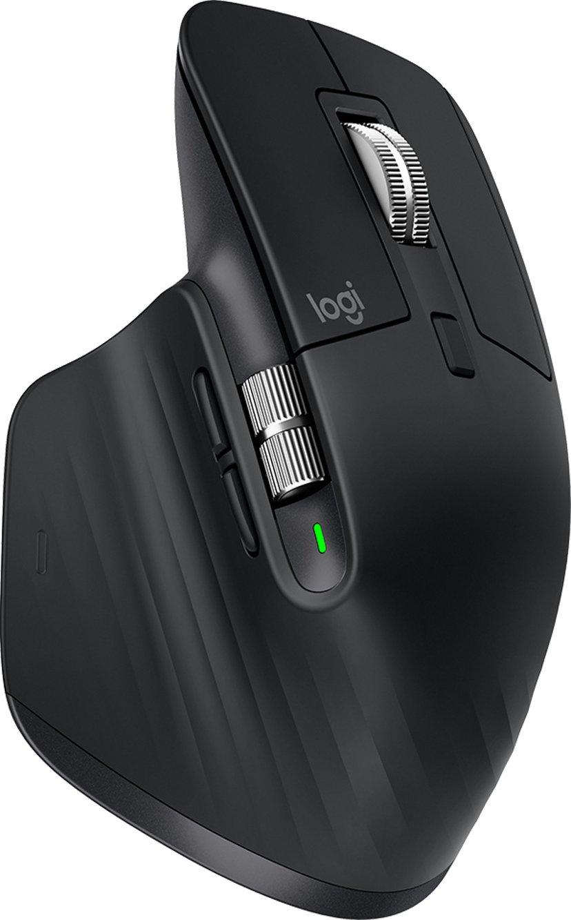 Logitech MX Master 3 For Business Svart Mus Trådlös 4,000dpi