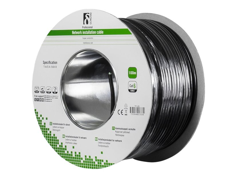Deltaco Installation Cable Outdoor