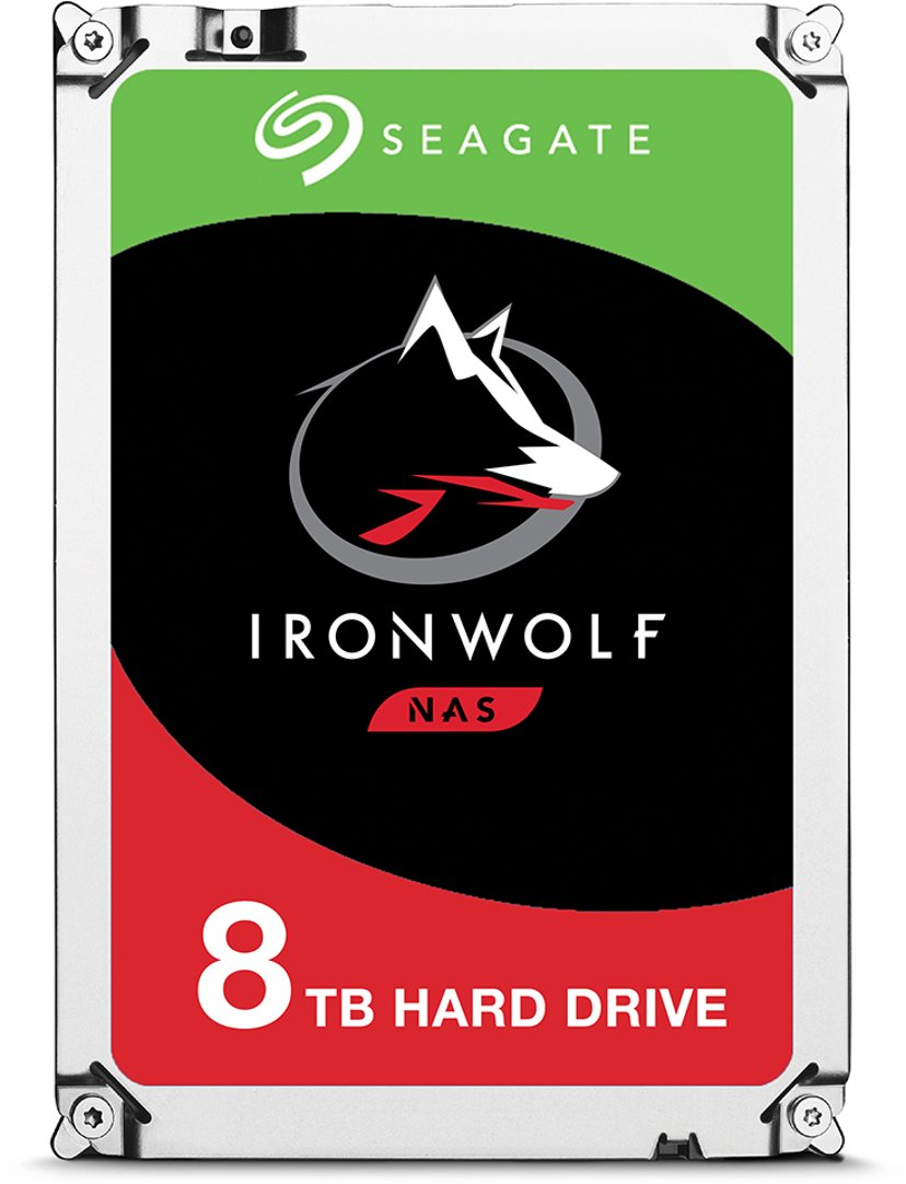 "Seagate IronWolf 8TB 3.5"" Serial ATA-600"