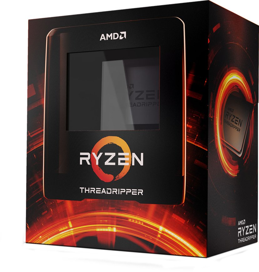 AMD Ryzen ThreadRipper 3960X 3.8GHz Socket sTRX4 Processor