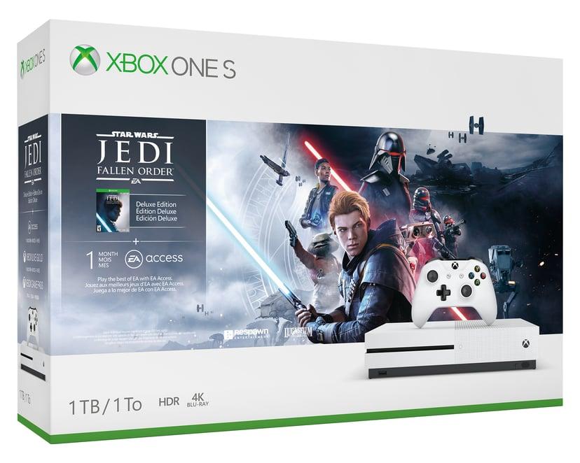 Microsoft Xbox One S 1TB - Star Wars Jedi Fallen Order Bundle