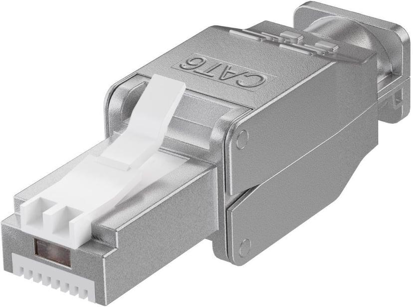 Microconnect Kontaktdon CAT6 STP RJ45 Verktygsfri