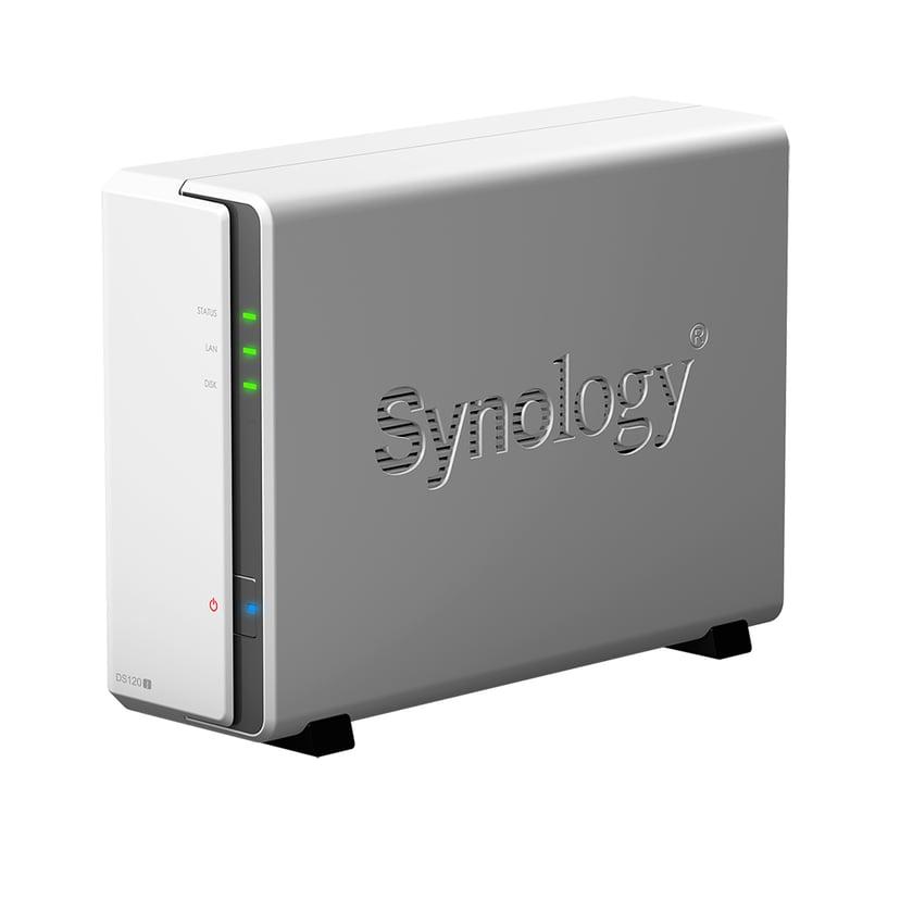 Synology Disk Station DS120J 0TB Personlig molnlagringsenhet