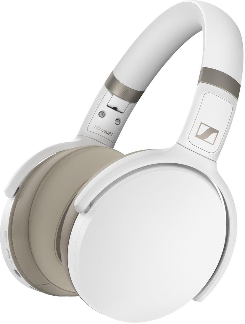 SENNHEISER HD 450Bt Wireless White Hvit