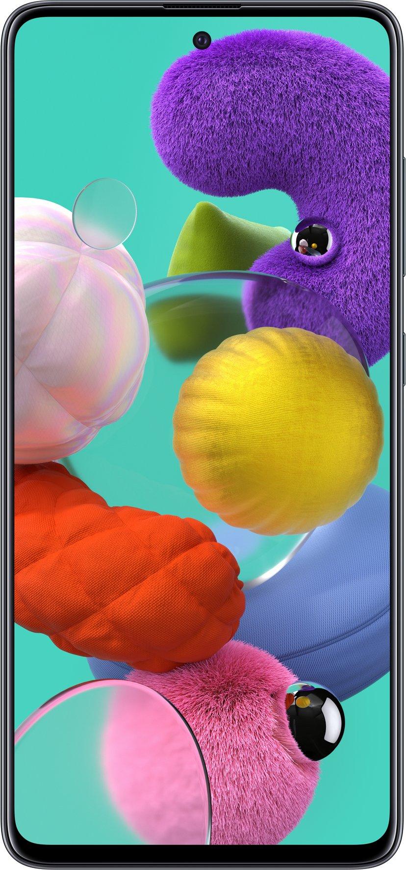 Samsung Galaxy A51 128GB Dual-SIM Prisme knust sort