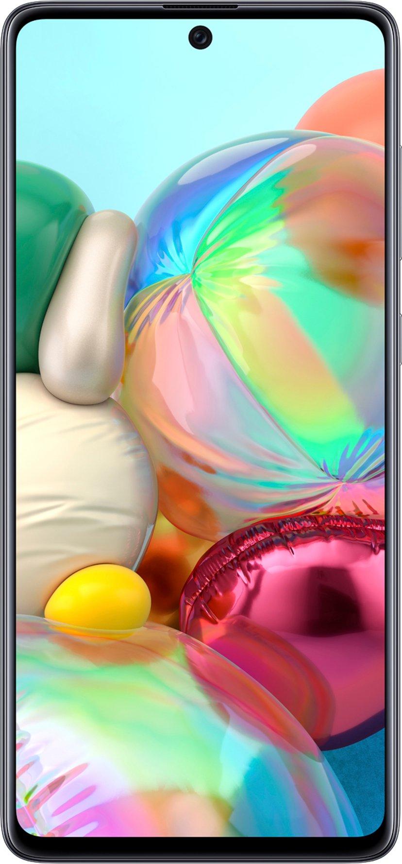 Samsung Galaxy A71 Dobbelt-SIM Prisme-knusesvart