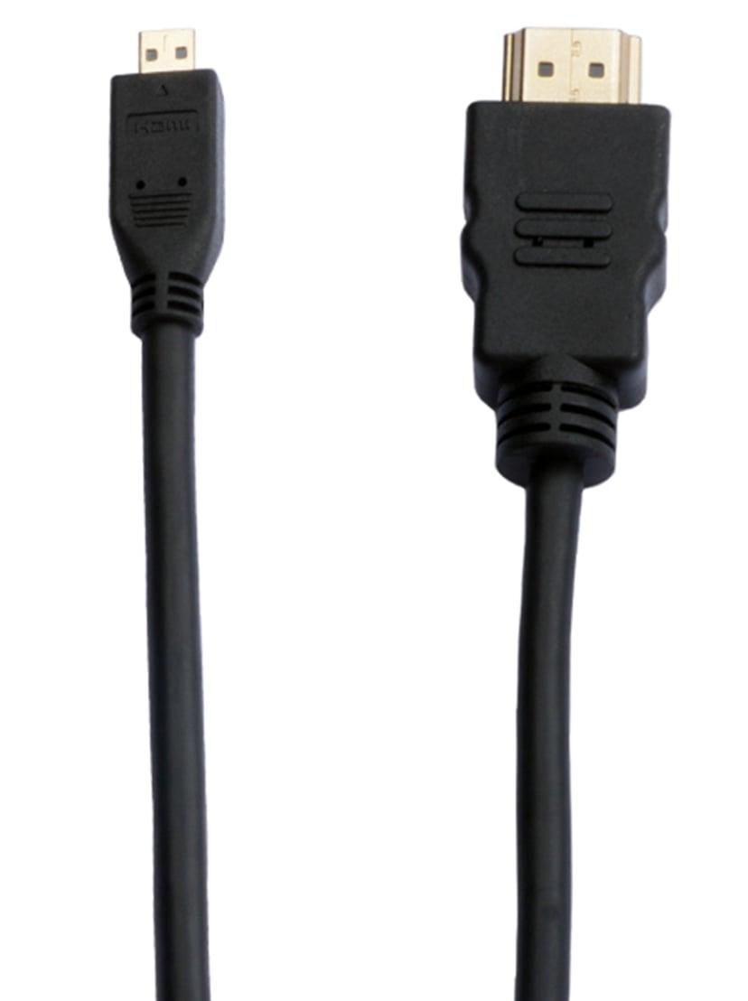 Prokord Cable HDMI - HDMI Micro 3.0m – HDMI 2.0 HDMI Micro Hann HDMI Hann 3m