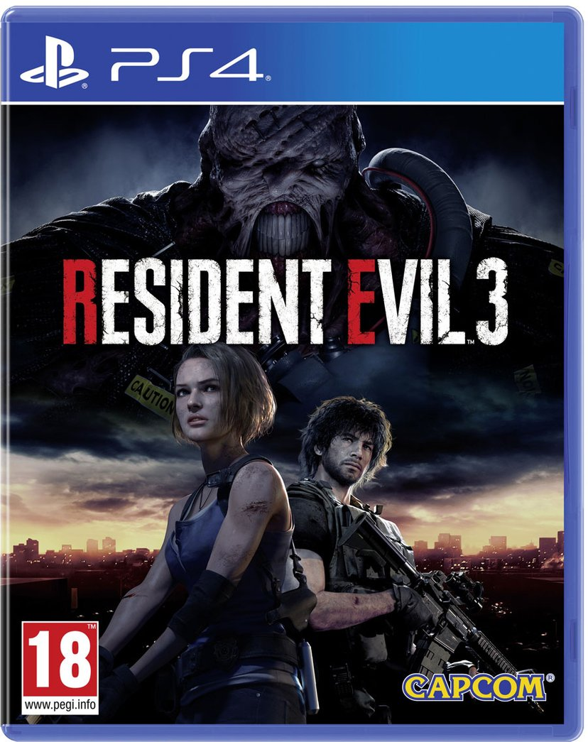 Capcom Resident Evil 3 Sony PlayStation 4