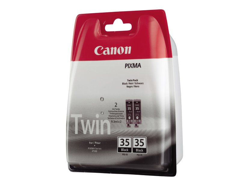 Canon Bläck Svart PGI-35 Twin Pack