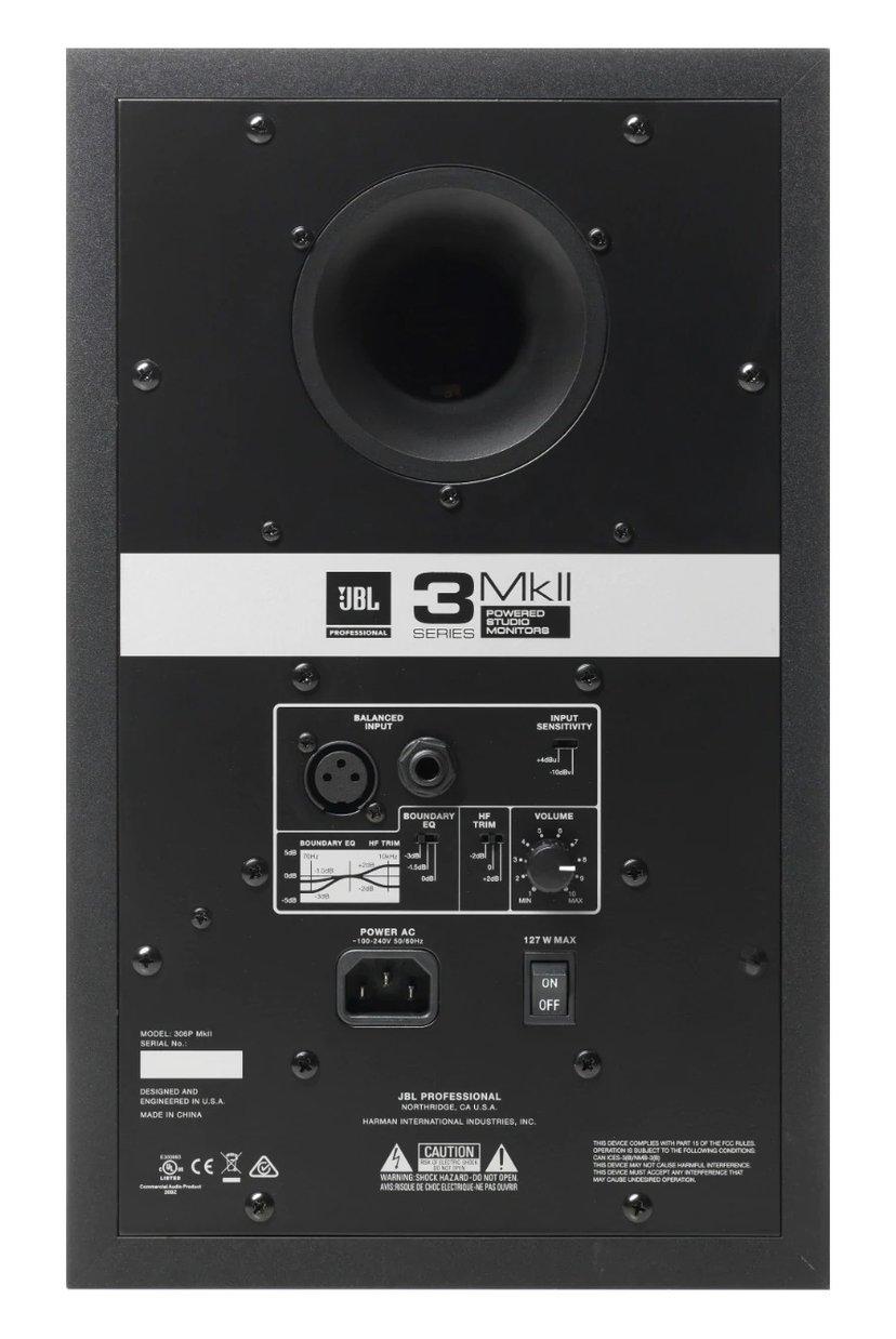 JBL 306P MKII Monitor (Pair)
