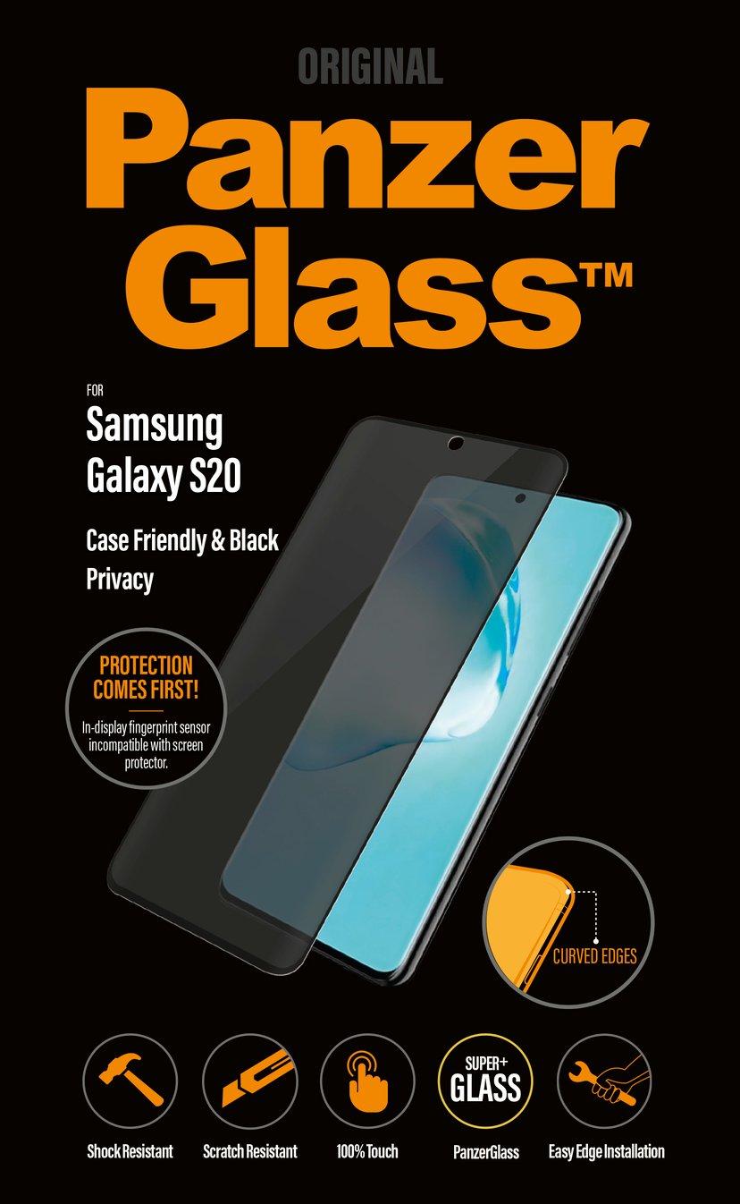 Panzerglass Privacy Case Friendly Samsung Galaxy S20