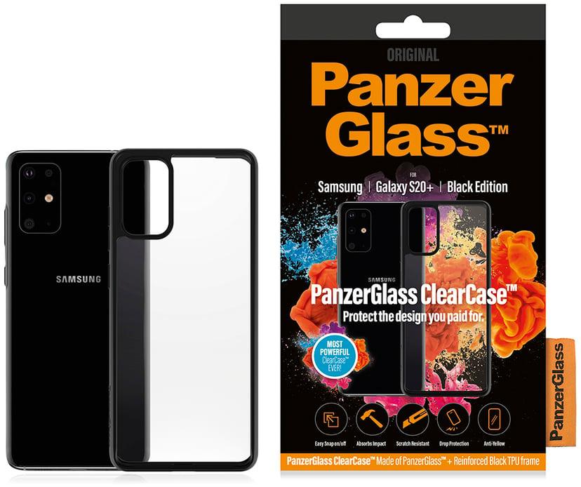 Panzerglass Clearcase BlackFrame Samsung Galaxy S20+ Svart