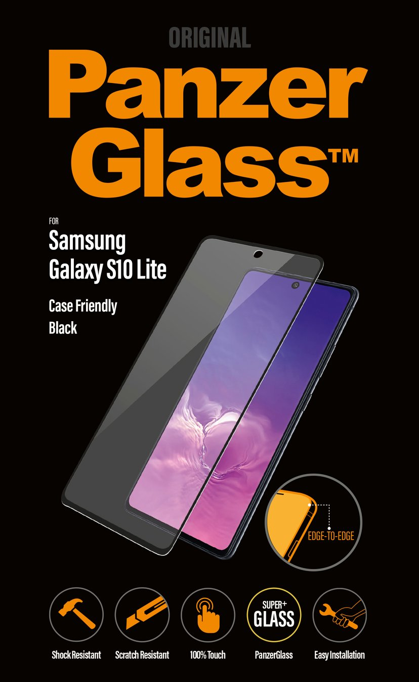 Panzerglass Edge-to-Edge Samsung Galaxy S10 Lite