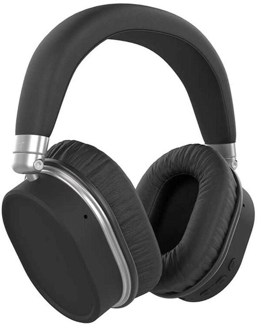 Kitsound Immerse 75 Anc Over-Ear Bt Black Svart