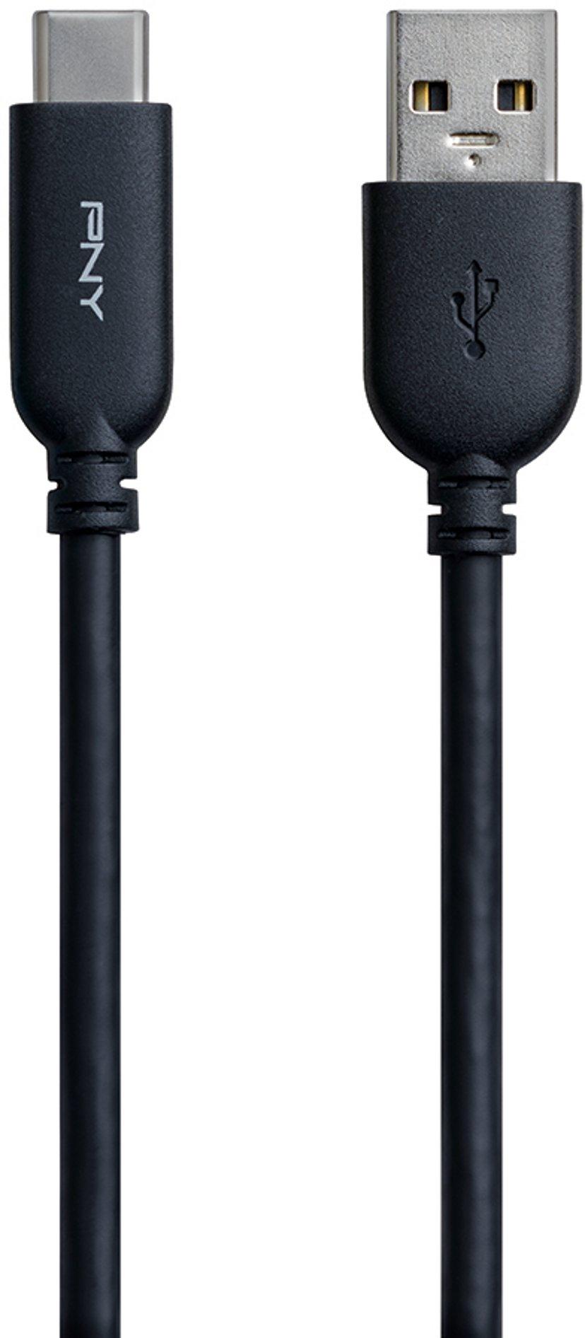 PNY USB-A till USB-C Kabel 1.01m Svart