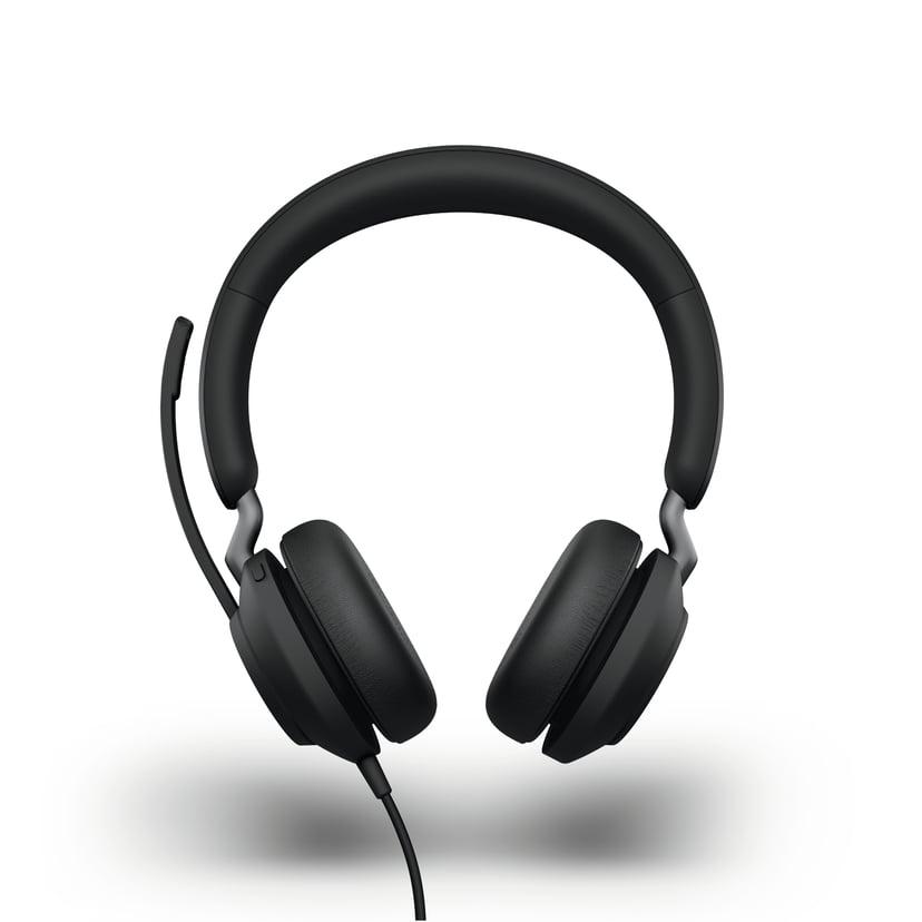 Jabra Evolve2 40 MS USB-A Headset Musta